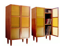 contemporary wooden bookcase G10 SMC Furnishings