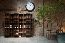 contemporary wooden bookcase LITERATURA LIGHT by Vicent Martinez puntmobles