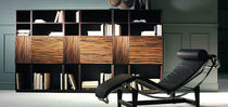 contemporary wooden bookcase DOOR by Estudi Sb Rafemar