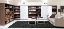 contemporary wooden bookcase NIKI by Mario Mazzer  Bimax