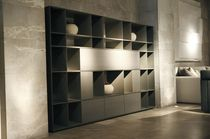 contemporary wooden bookcase ALTERNATIVE MOBIL FRESNO