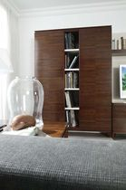 contemporary wooden bookcase QUORUM HURTADO