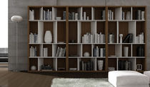contemporary wooden bookcase ALFA 184 Gamamobel