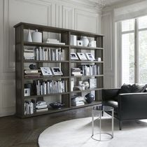 contemporary wooden bookcase by Antonio Citterio BIBLIA  MAXALTO