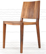 contemporary wooden chair QUIET: RNM 261 by Jasna Mujkic rukotvorine