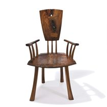 contemporary wooden chair with armrests IN BETWEEN WORLDS Peter Hook