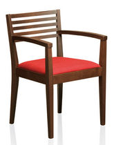 contemporary wooden chair with armrests 1489 PSM