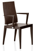 contemporary wooden chair with armrests 1825 PSM