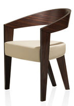 contemporary wooden chair with armrests NEO VEGA PSM