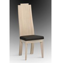 contemporary wooden chair W-75 Pierre Cayron