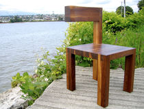contemporary wooden chair BELLINZONA Nico Spacecraft