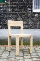 contemporary wooden chair ATELIER by Vincent Van Duysen ST-PAUL HOME