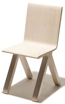 contemporary wooden chair KAMPA by Jukka Lommi PUNKALIVE