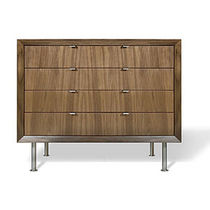 contemporary wooden chest of drawers CREDENZA Grey Design Studio
