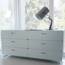 contemporary wooden chest of drawers RITONDO CACCARO