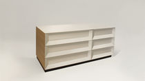 contemporary wooden chest of drawers SHADOW by Jonah Takagi Council Design