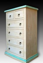 contemporary wooden chest of drawers  Artigiantessile