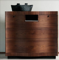 contemporary wooden chest of drawers 2750 Ferri Mobili