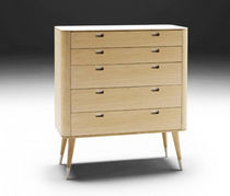 contemporary wooden chest of drawers AK 2420 by Nissen & Gehl MDD Naver collection