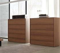 contemporary wooden chiffonier ZERODUE : IRO  FRATELLI ROSSETTO