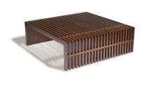 contemporary wooden coffee table  Michael Trayler Designs ltd.
