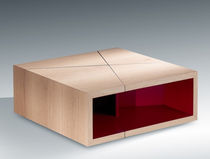 contemporary wooden coffee table ETNA by Erwan Péron TurriniBY