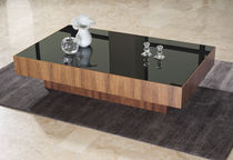 contemporary wooden coffee table SQUARE GUARANTEE by GIOGATZIS