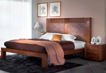 contemporary wooden double bed 36 NIGHT ARCA