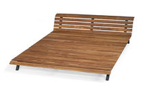 contemporary wooden double bed FORREST OUTDOOR by  PAGANI - PERVERSI SKITSCH