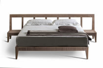 contemporary wooden double bed MAGIC DREAM by Giuseppe Viganò MORELATO