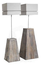 contemporary wooden floor lamp DUKDALF Pmpfurnishing