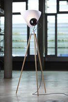 contemporary wooden floor lamp (tripod) GEORGE  TOBIAS GRAU