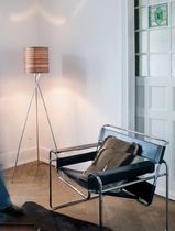 contemporary wooden floor lamp (tripod) NODO  K.B. Form GmbH