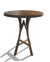 contemporary wooden high bar table VITTORIA Costantini Design
