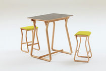 contemporary wooden high bar table THEO by Simon Pengelly Chorus Furniture
