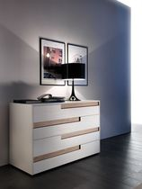contemporary wooden lacquered sideboard REGOLO mazzali spa