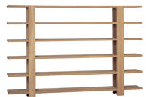 contemporary wooden low shelf HELSINKY Yask