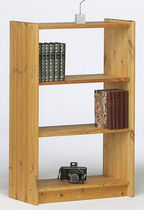 contemporary wooden low shelf AXEL 140/30 Steens Furniture