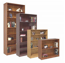 contemporary wooden modular shelf 32 BC, 48 BC, 72 BC, 84 BC Office Furniture Group