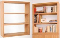 contemporary wooden modular shelf  PLAN LIBRE