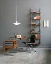 contemporary wooden office desk with metal structure AS4 ATLAS INDUSTRIES