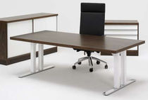 contemporary wooden office desk with metal structure SNITSA XL 08 Sa Mobler