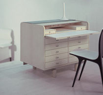 contemporary wooden secretary desk 804 by G. Frattini Bernini