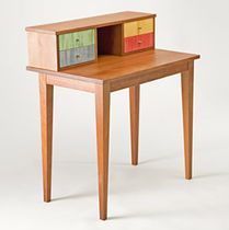 contemporary wooden secretary desk SCRIVANIA WohnGeist AG