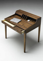 contemporary wooden secretary desk AK 1320 by Nissen &amp; Gehl Naver collection