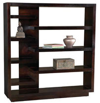 contemporary wooden shelf AVANT GARDE LEDA Furniture