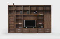 contemporary wooden shelf WALLSTREET by Davide & Maurizio Riva  Riva Industria Mobili