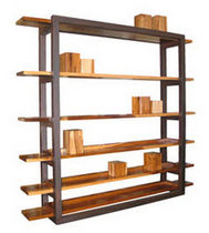 contemporary wooden shelf DIMARTINO Costantini Design