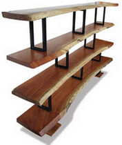 contemporary wooden shelf PIETRO Costantini Design