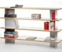 contemporary wooden shelf FLAT Jonas & Jonas